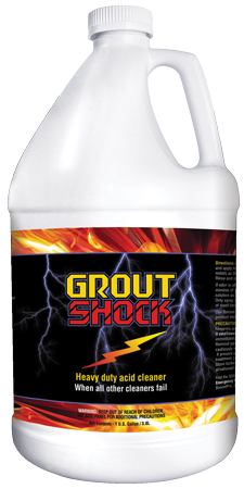 Grout Shock Acidic Tile and Grout Cleaner