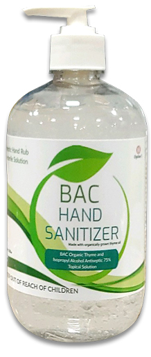 BAC Botanical Hand Sanitizer