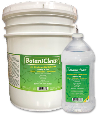 BotaniClean Germicidal Disinfectant Cleaner