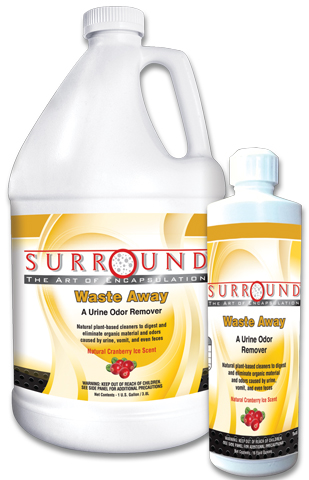 Surround Waste Away Urine Odor Remover