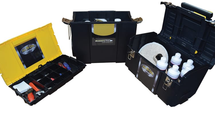 All in One professional carpet spotting kit